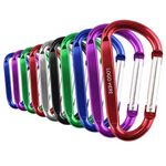 D-Ring Carabiners Keychain