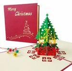 Custom 3D Holiday Christmas Greeting Card Custom 3D Greeting Card