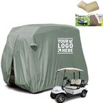 2 Passengers Outdoor Golf Cart Cover
