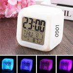 Colorful LED Alarm Clock