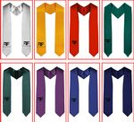 Custom Graduation Sashes Solid Custom Sashes Stoles