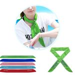 Cooling Bandanna w/Non-Toxic Cooling Crystal-Green