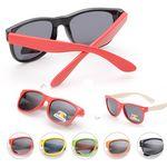 Kids Classic Solid Color UV Polarizing Sunglasses