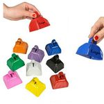 Metal Cowbell Noise makers