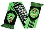 Custom Kaiju Beer Knit Scarf