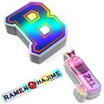 Custom Silver Holographic Die Cut Decal Sticker