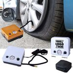 Custom Square Portable Tire Inflator Pump With Pouch