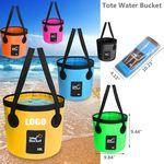 Custom Portable Tote Folding Bucket