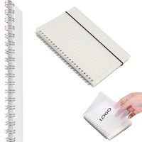 A6 Hardcover Ruled Spiral Notebook