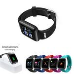 Fitness Tracker Smart Watch With Detachable USB Charger