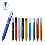 Flat Click Bookmark Pen