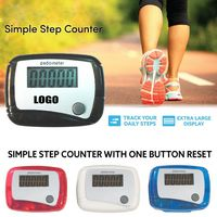 Classic One Touch Reset Step Pedometer