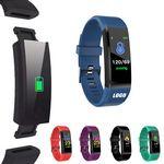Fitness Tracker Bluetooth Smart Band Sport Bracelet