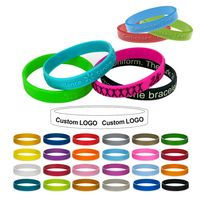Youth Embossed Silicone Bracelet