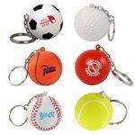 Custom Keychain Ball Stress Reliever