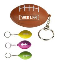 Football Stress Reliever Keychain
