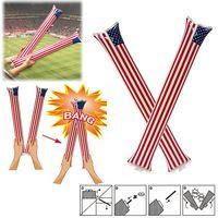 American Flag Cheer Sticks
