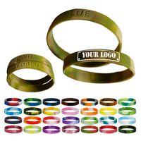 Camouflage Silicone Bracelets