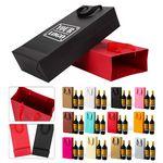 Custom 2-Bottle Kraft Paper Wine Bag