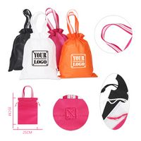 Drawstring Tote Cinch Pouch