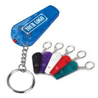Whistle Light Key Chain