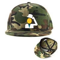 Camouflage Cotton Twill Hat