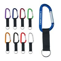 Anodized Carabiner Strap Key Chain