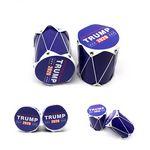 Trump Rattles Cheer Drums