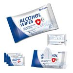 Custom 10 Sheets 75% Alcohol Wipes