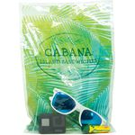 Clear Digital Full Color Die Cut Plastic Bag (9
