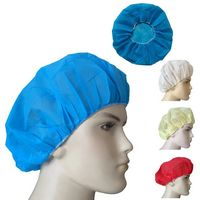 Disposable Non-Woven Hats Hospital Hair Protective Stretch Hats