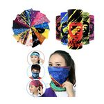 Full Color Magic Seamless bandanna/ Sports Scarf