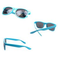 Youth Solid Color Classic Sunglasses