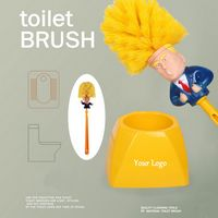 Trump Toilet Brush with Holder