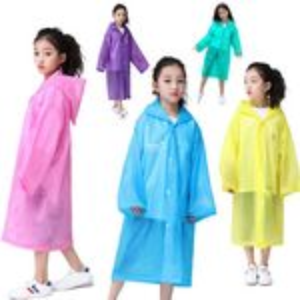 Custom Rain Poncho For Kids