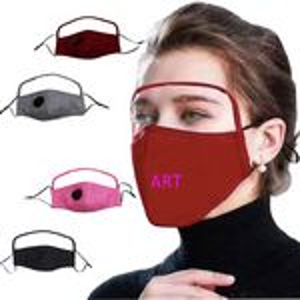 Custom Fabric Mask With PET Eye Shield