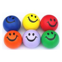 Round Smiley Face Stress Reliever
