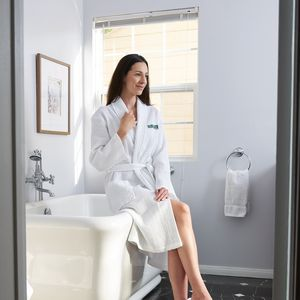 515a35217e Seville Collection Waffle Robe - WWR48 - IdeaStage Promotional Products