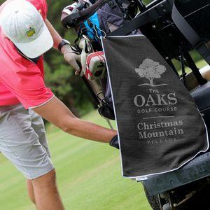 Custom Printed Golf Towels