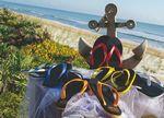 Custom Bora Bora Flip Flops