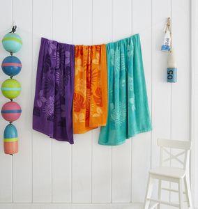 Diamond Collection Colored Beach Towel (Screen Print)