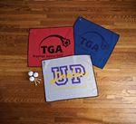 Custom Microfiber Waffle Small Golf Towel (Embroidery)