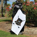 Microfiber Golf Towel with Corner Grommet (Screen Print)