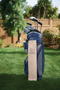 Diamond Collection Golf Towel w/ Tri-Fold Grommet (Screen Print)
