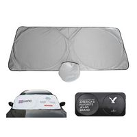 Windshield Car Window Sunshade With A Pouch