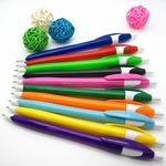 Custom Retractable Plastic Barrel Ballpoint Pen