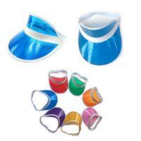 PVC Transparent Sun Soft Visor