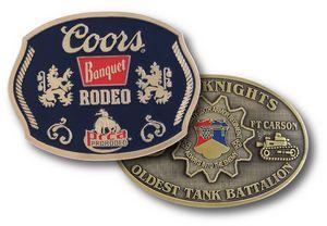 Custom Imprinted Belt Buckles!
