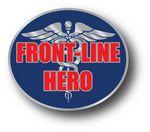 Custom Stock COVID-19 Front-Line Hero Lapel Pins