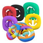 Custom Snappers Fidget Toy Popper Noise Maker Anxiety Stress Relief Toys Grab Snap Sensory Squeeze Toys